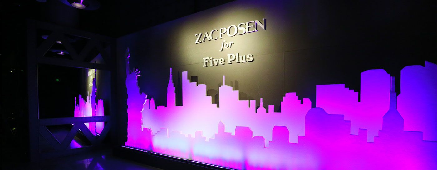"Five Plus ZACPOSEN""纽约绮遇""主题时尚夜"