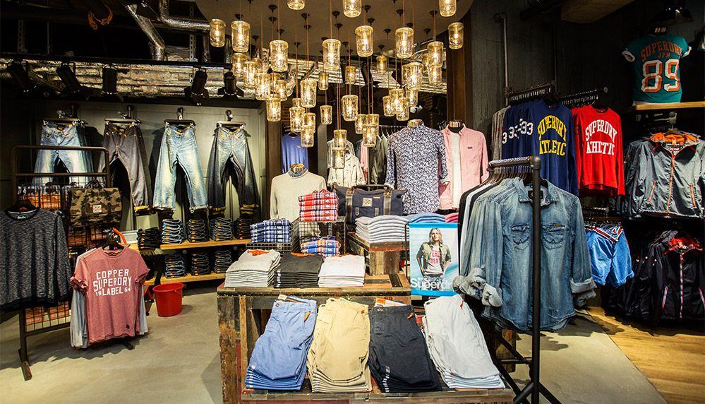 英倫品牌Superdry公布中國首批三家專賣店開業計劃
